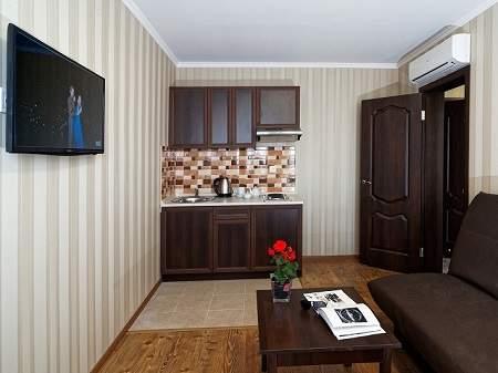 Санаторий Лесная Песня 2-комнатный апартамент