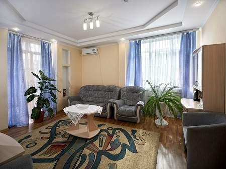 Cанаторий Хрустальный Дворец 3-комнатный Люкс (Корпус №1)