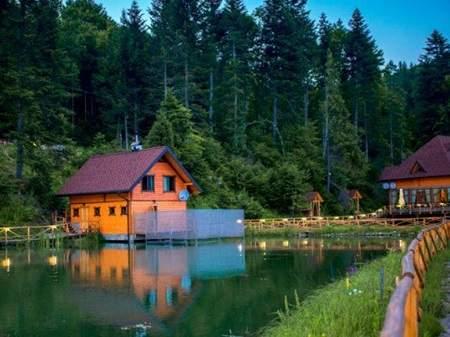 Отель Осоння - Карпаты Коттедж 4+2 (над озером)