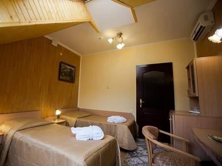 Санаторий Квитка Полонины 2-местный 5 этаж (Сузирье)