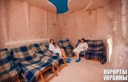 Санаторій Карпати соляна кімната