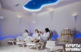 Готель Алкор соляна кімната