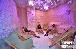 Санаторий Шахтер соляная комната