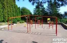 Санаторий Шахтер детская площадка