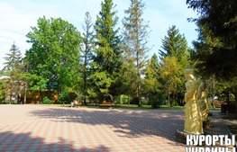 Санаторій Молдова територія