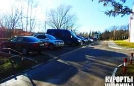 Санаторій Молдова парковка